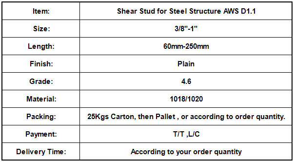 Shear Stud for Steel Structure AWS D1.1.png